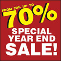 Special Year End Book Sale