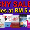 50 TITLES AT RM5 EACH!