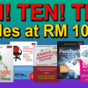 PROMOSI 100 TITLES AT RM10 EACH!