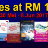 PROMOSI 150 TITLES AT RM15 EACH!